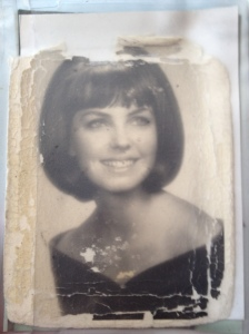 My dad has kept this picture of my mom (circa 1965) in his wallet for 50 years.